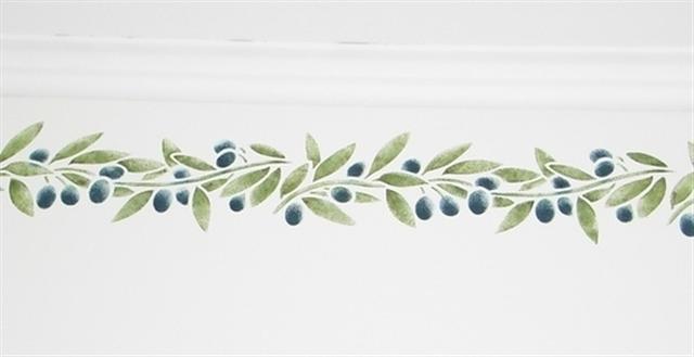 frise d'olives