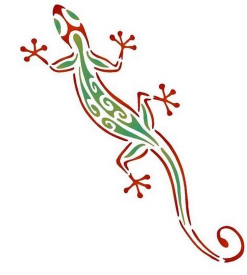 Anisp050 pochoir gecko style pochoir 1