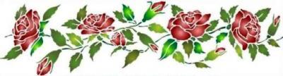 Frise de roses
