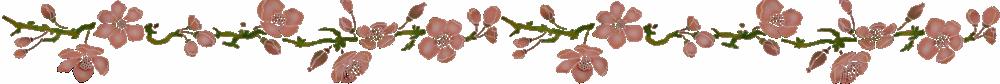 Frise fleur de pommeir pochoir style pochoir mon artisane ok 1