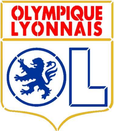 Logo lyon ol olympique lyonnais en pochoir style pochoir