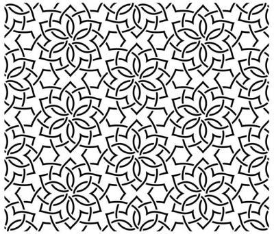 Ori289790 moucharabieh mosaic oriental 6 pochoir