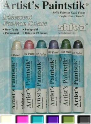 Pack peintures a pochoir brillantes sans bavure fashion