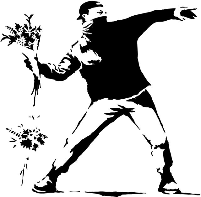 Per653014 banksy street art lanceur de fleurs small