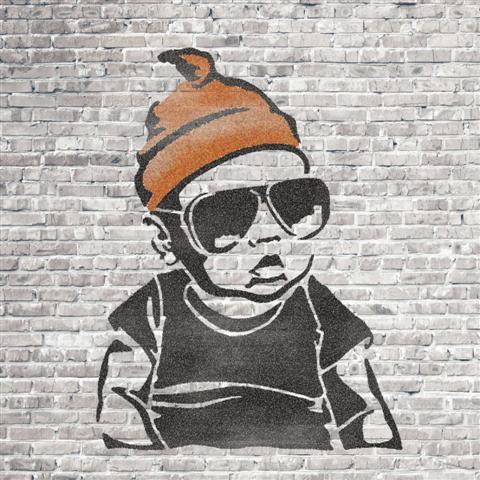 Per981023 mur de briques bebe street art small