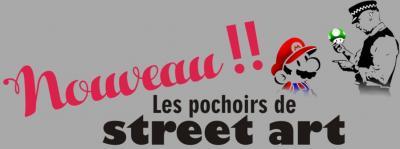 Pochoirs street art nouveau mario