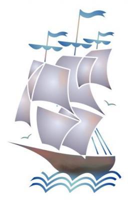 Stipo6007 bateau a voile pochoir a peindre style pochoir mon artisane small