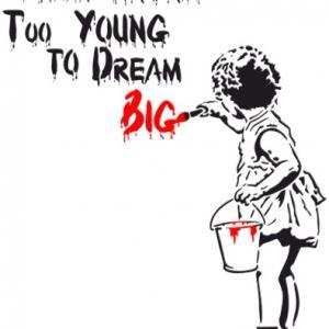 Street art pochoir youre never too young style pochoir d14785p