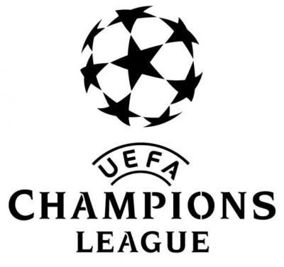 Uefa champions league pochoir p