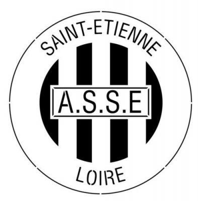 Asse saint etienne football club pochoir a peindre stylepochoir mon artisane