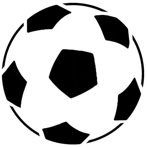 Ballon de foot en pochoir a peindre spd083