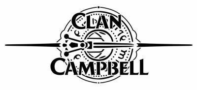 Clan campbell fond runes pochoir a peindre mon artisane style pochoir