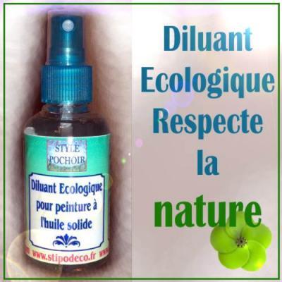 Diluant ecologique respecte la nature