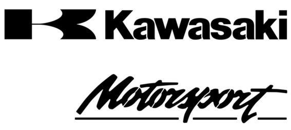 Div0659 pochoir kawasaki motorsport a peindre