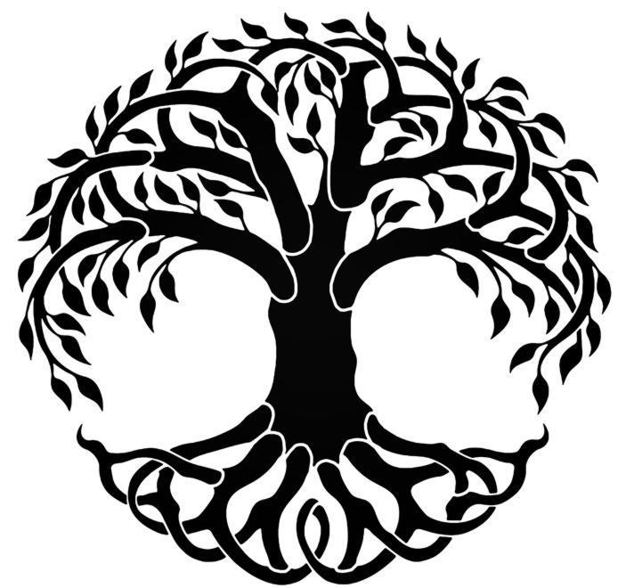 Div303087 arbre de vie celtic pochoir mon artisane style pochoir p