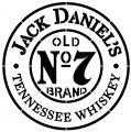 Div51689 pochoir stencil jack daniels rond old number 7 brand