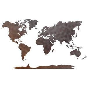 Div6001 planisphere carte du monde pochoir