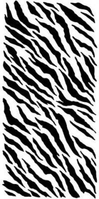 Div6748 pochoir zebrures taches lignes zebres pochoir a peindre