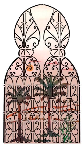 Fentre orientale palmiersp
