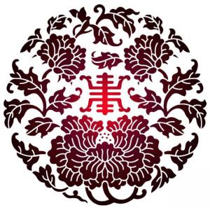 Frchin13033 rond chinois pochoir a peindre