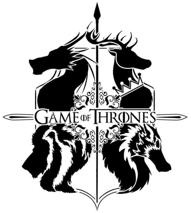 Gt1 game of throne pochoir a peindre sticker