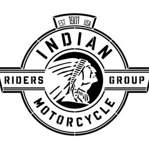 Ind2 pochoir indian motor logo a peindre pochoir stencil