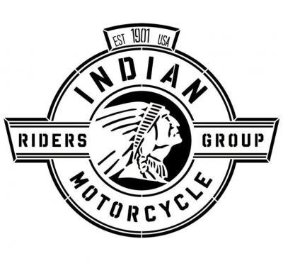 Ind2 pochoir indian motor logo a peindre pochoir stencil
