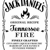 Jack daniels fire pochoir a peindre stencil style pochoir mon artisane d81254
