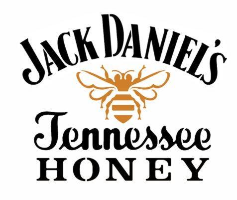 Jack daniels honey pochoir stencil div32154