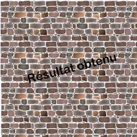 Mur de pierres pochoir reutilisable a peindre