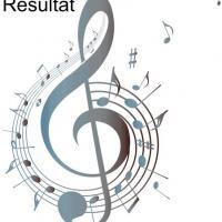 Mus 205 clef de sol note de musique cle de sol portee de musique en pochoir 2 parties