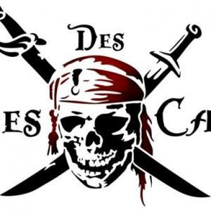 Pir45 pirate des caraibes pochoir mon artisane