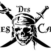 Pir45 pirate des caraibes pochoir
