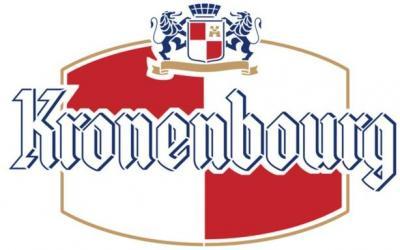 Pochoir biere kronenbourg logo
