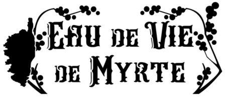 Pochoir eau de vie de myrthe