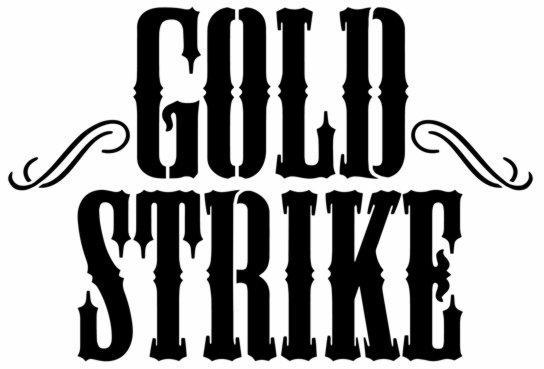 Pochoir gold stricke logo marque liqueur gs1