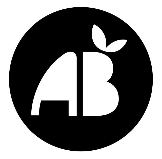 Pochoir logo ab agriculture biologique bio
