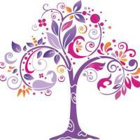 Pochoir mural geant arbre original style pochoir
