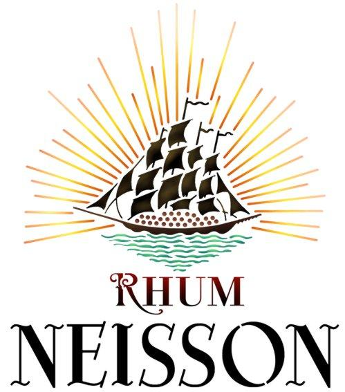 Pochoir rhum nesson navire logo marque a peindre