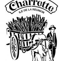 Rhum charrette pochoir