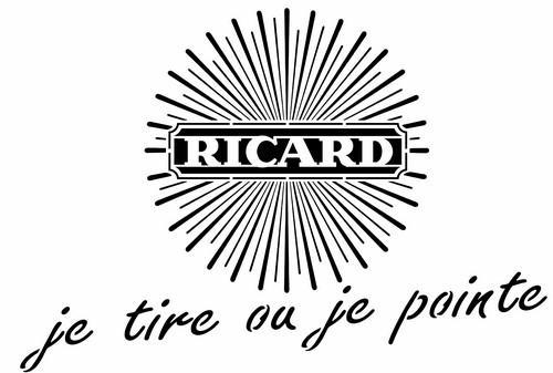 Ricard pochoir a peindre stencil stylepochoir
