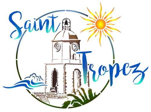 St tropez pochoir a peindre style pochoir mon artisane sticker couleur logo ville
