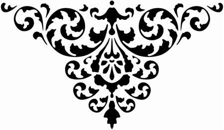 Stipo1459 triangle de feuilles stylisee 1 custom