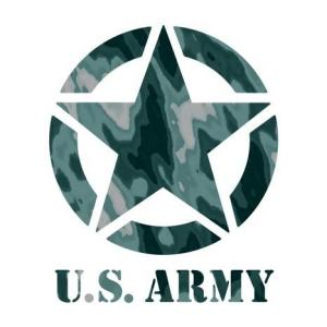Us army etoile pochoir a peindre