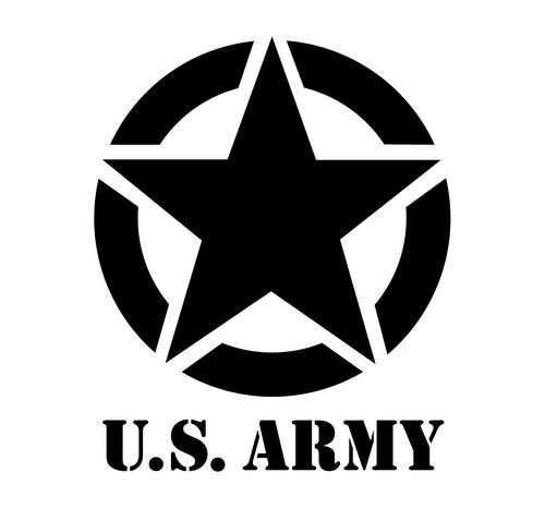 Us army pochoir stylepochoir mon artisane